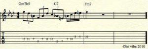 ii-v-i-in-f-minor jazz licks