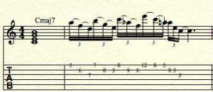substitution-arpeggios-over-cmaj7