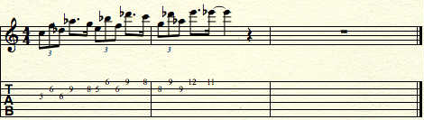 improvising-with-half-whole-note-scale-passing notes