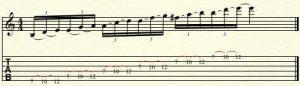 symmetrical guitar scale-2