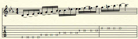 symmetrical-scale-four-notes-per-string